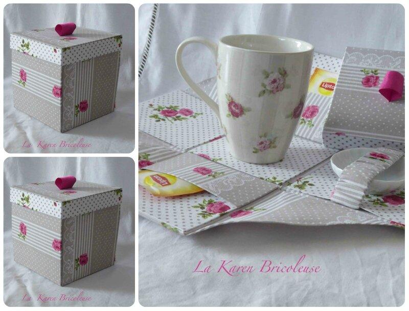 thé rose g