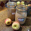 Compote de pommes , pommes poires , confiture de poires ou gelée de pommes