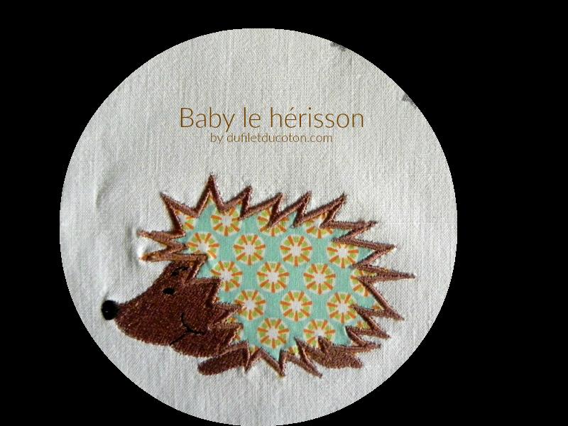 Baby le Hérissonrond
