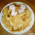 Pancakes pour les 23 ans de grégoire et pour le retour de aude