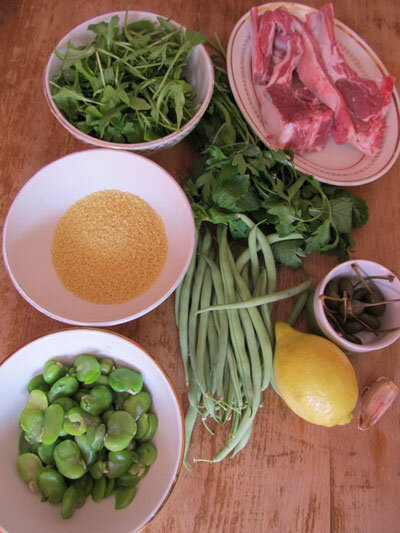 couscousvert_agneau_ingredients