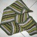 Love scarf by Annette Petavy (Crochet me)