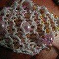 perles tricotées pour un grigri