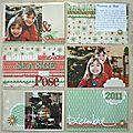 Décembre 2011, une page à compartiments