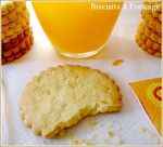 presenatiton biscuit à l'orange