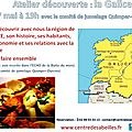 Atelier dcouverte : la Galice
