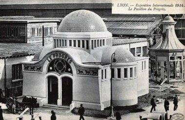 cartes-postales-photos-Exposition-Internationale-1914-Le-Pavillon-du-Progres-LYON-69003-8023-20080116-h1c2j4z6v4a4e1m9g3y9