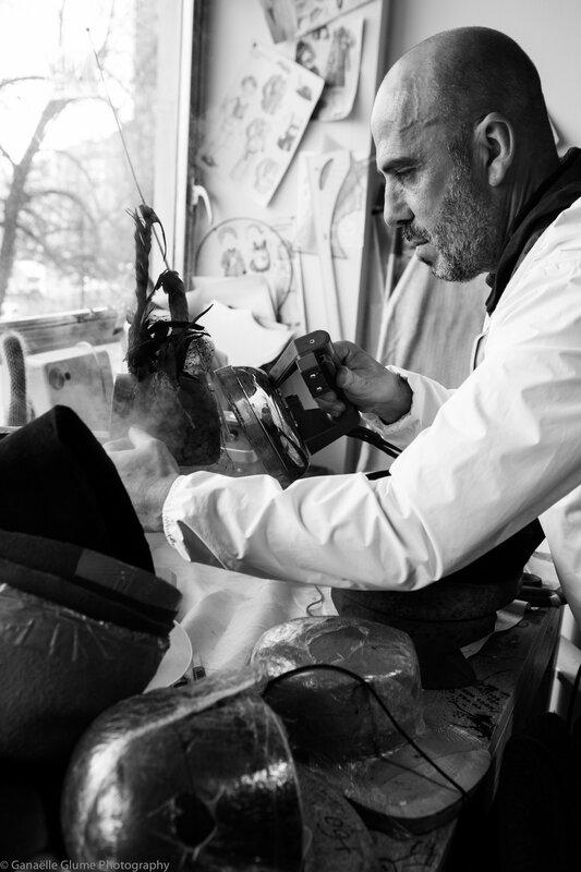 Dans l'atelier d'Elvis Pompilio-7292