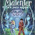 Malenfer, tome 2, la source magique, de cassandra o'donnell