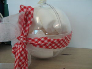 Boule de noel home made
