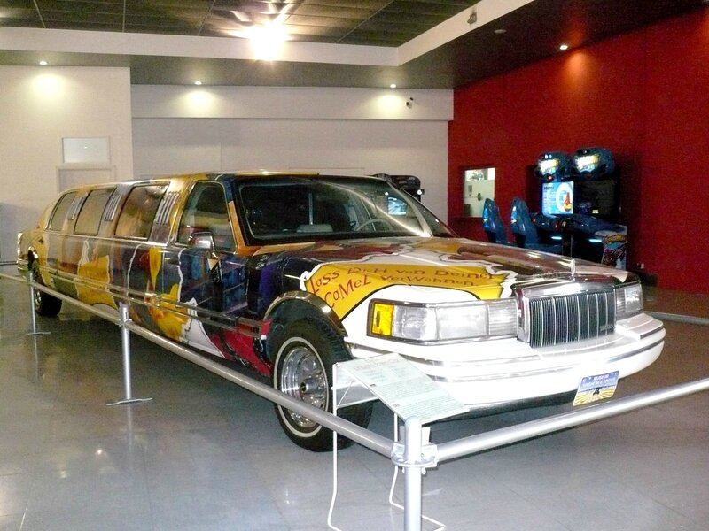 LINCOLN Town Car Stretch Limousine aérographe Camel par Janny's Art 1993 Speyer (1)