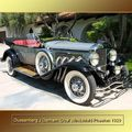 1929 - Duesenberg J Derinam Dual Windshield Phaeton