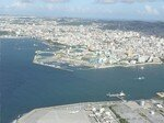 Aerial_view_Entrance_to_Naha_Port_Naminoue_and_Downtown_2