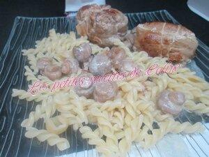 Paupiettes de porc sauce moutarde31