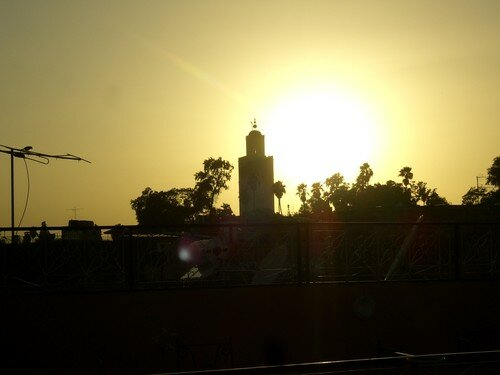Marrakech - Coucher de soleil
