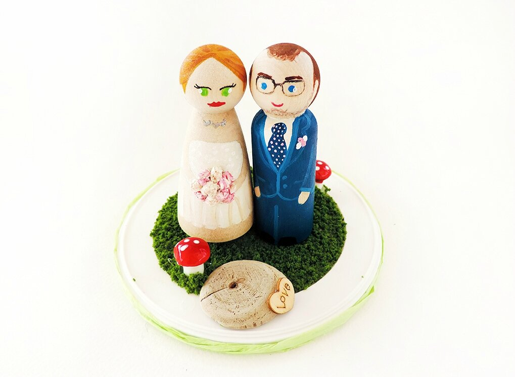 Wedding Cake toppers automne