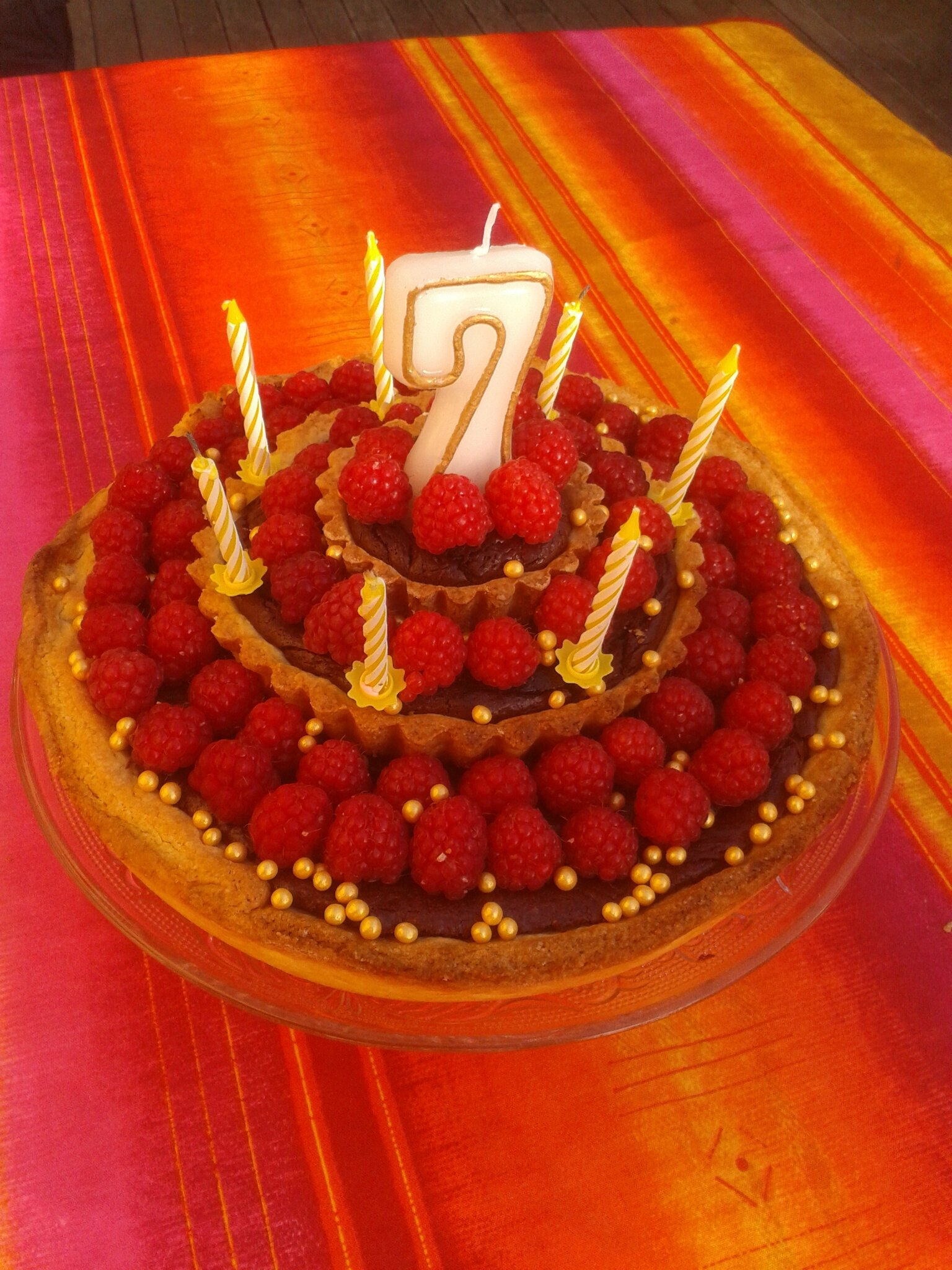 gâteau d'anniversaire pour Youenn