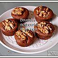 Bouchées au chocolat et aux noix