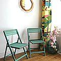 Ensemble de 4 chaises de jardin pour enfant