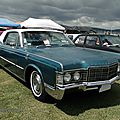 Lincoln continental hardtop coupe - 1969
