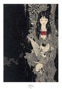 Artbook Takato Yamamoto Divertimento ukiyoe ukiyo-e sm manga 003