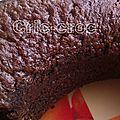 Gâteau au chocolat ...