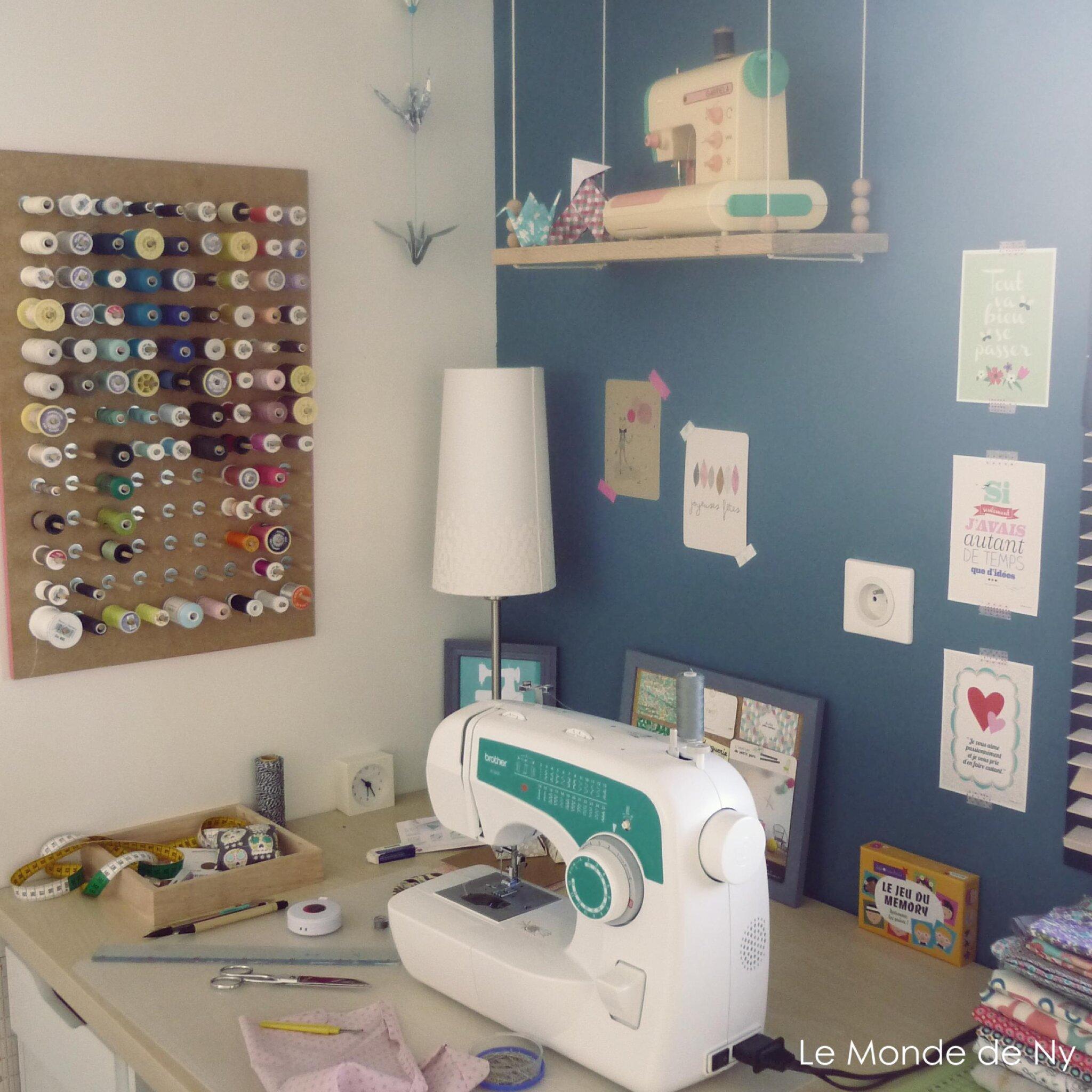 Mon petit atelier , la déco