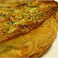 ..Quiche sans pte faon tartiflette... ou presque (Dfi Placard n#8)..