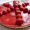 {recette} cheesecake fraises