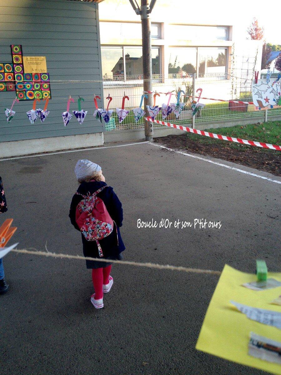 La Grande Lessive... l'art à l'école
