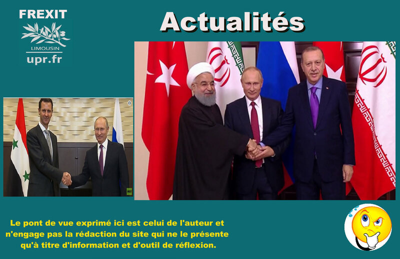 ACT SYRIE RUSSIE IRAN TURQUIE