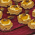 Petites bouchées pain d'épices/foie gras
