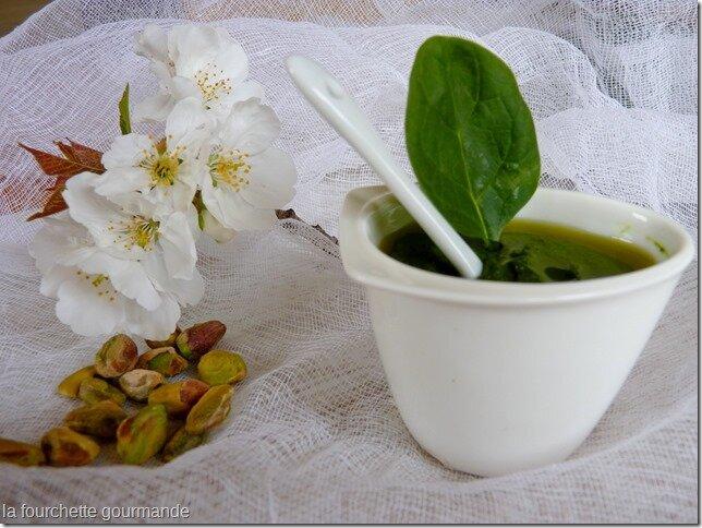 Pesto d'épinard