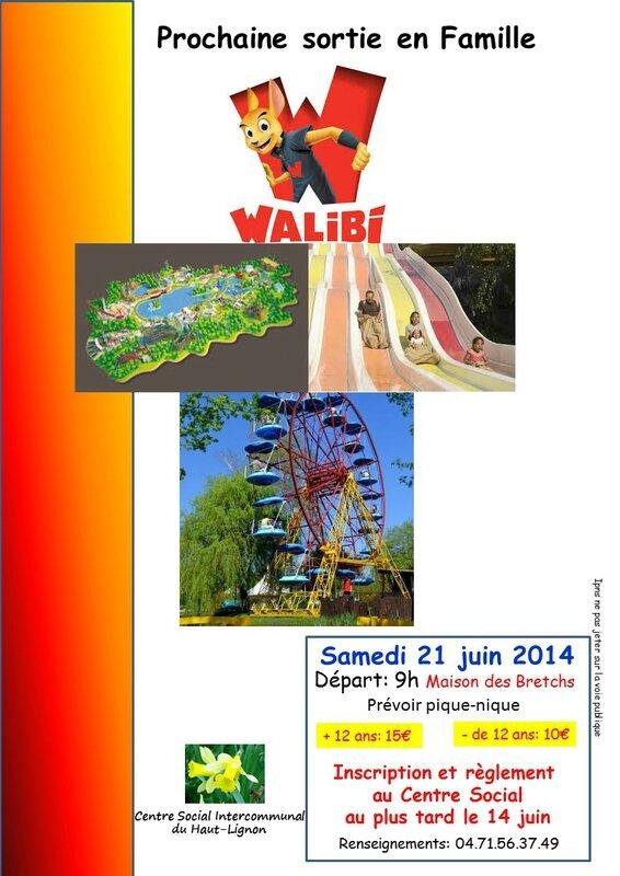 Affiche Walibi
