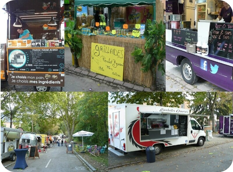 Quartier Drouot - Food trucks