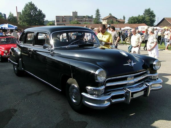 chrysler crown imperial limousine 1953 3