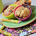 Muffins à la banane et aux carambars