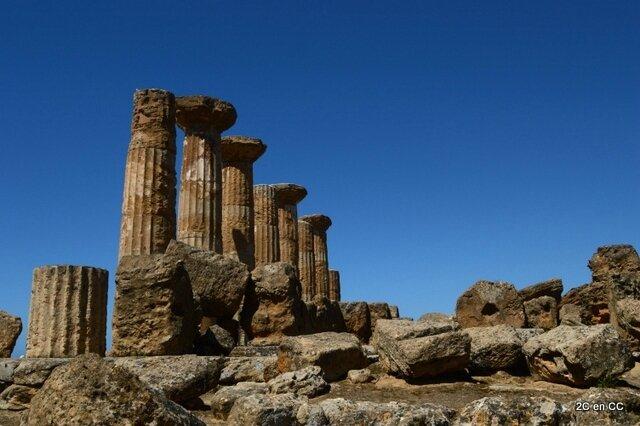 Temple d'Heraclès - Vallée des Temples - Agrigento - Sicile