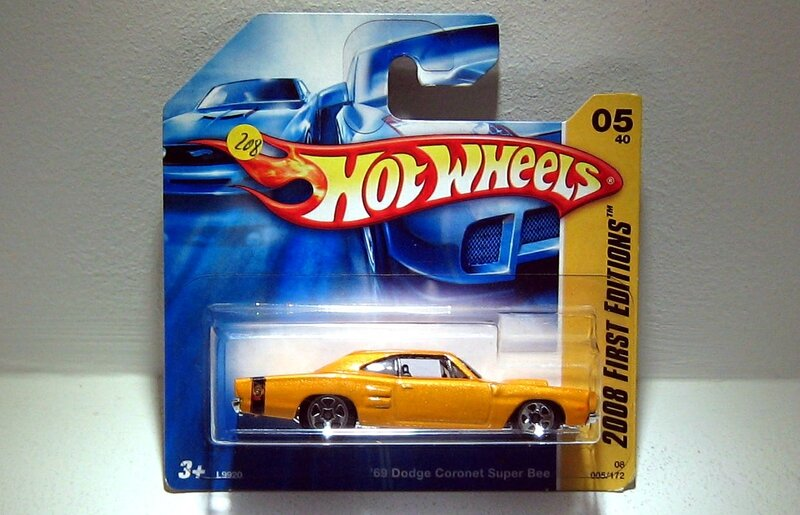 Dodge coronet super bee de 1969 (Hotwheels 2008)