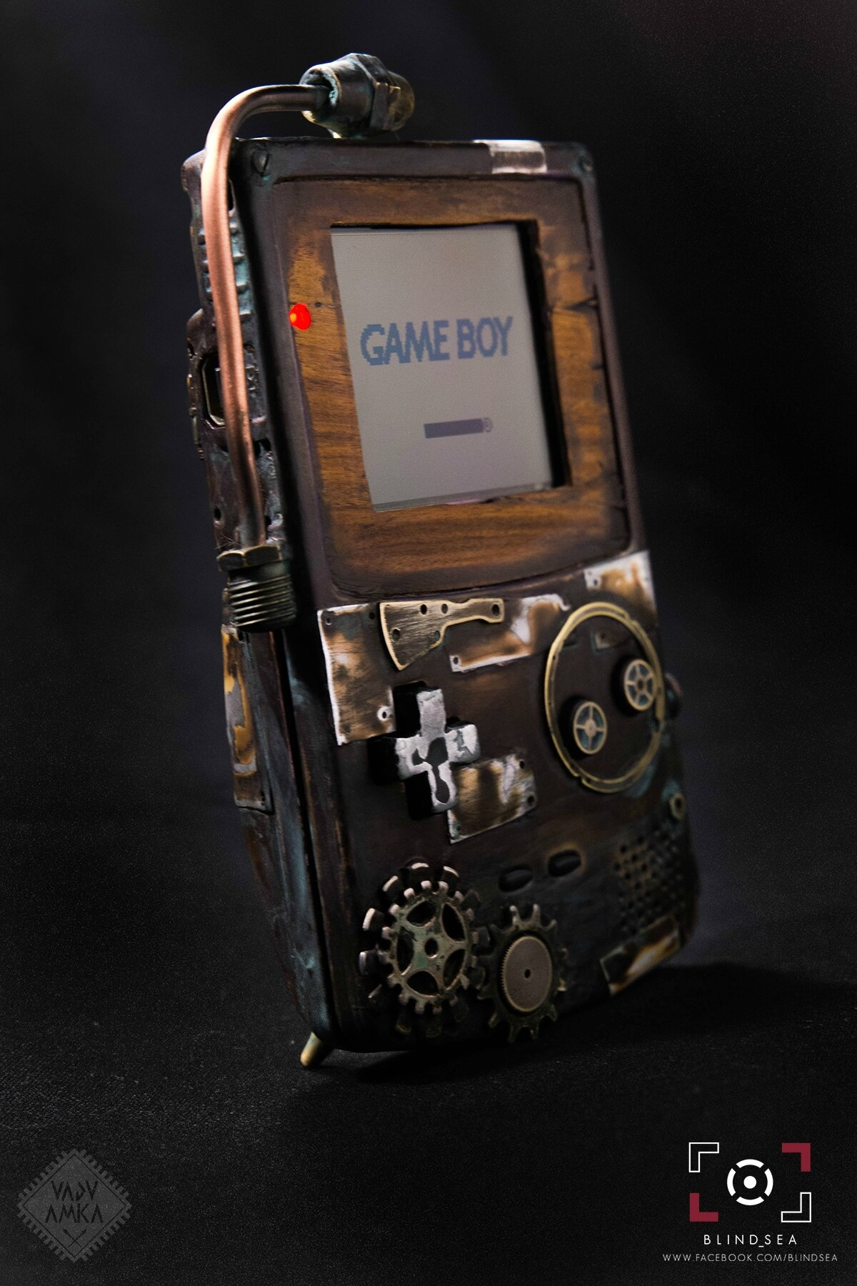 GameBoy Color Post-Apocalyptique