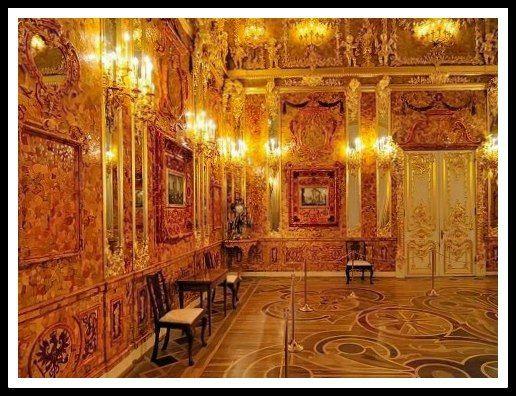 33 la chambre d'ambre