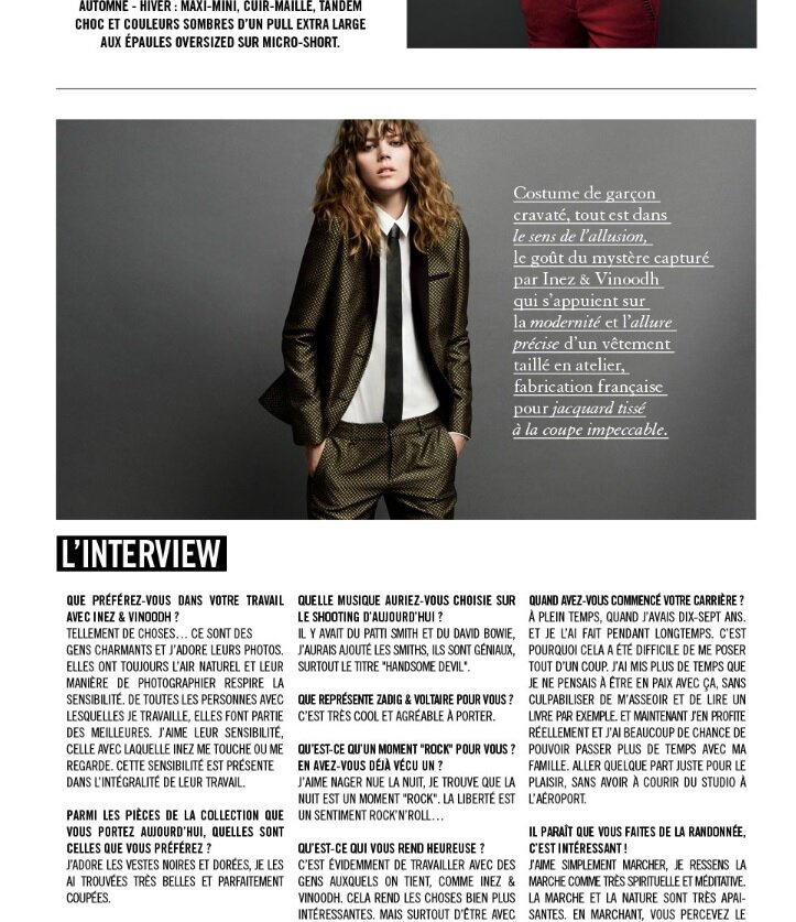 exemple d interview ecrite