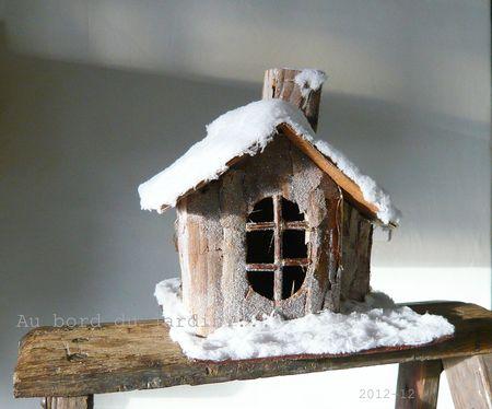 Petite maison enneigée copie
