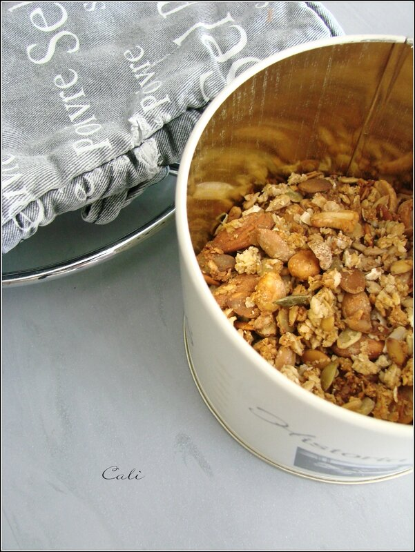 Granola aux fruits secs 003