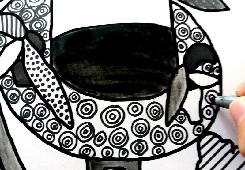 254_Noir et blanc_Du graphisme avec Matisse (15)