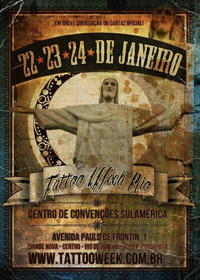Tatouage Semaine São Paulo actions 22 - 24 Janvier 2016