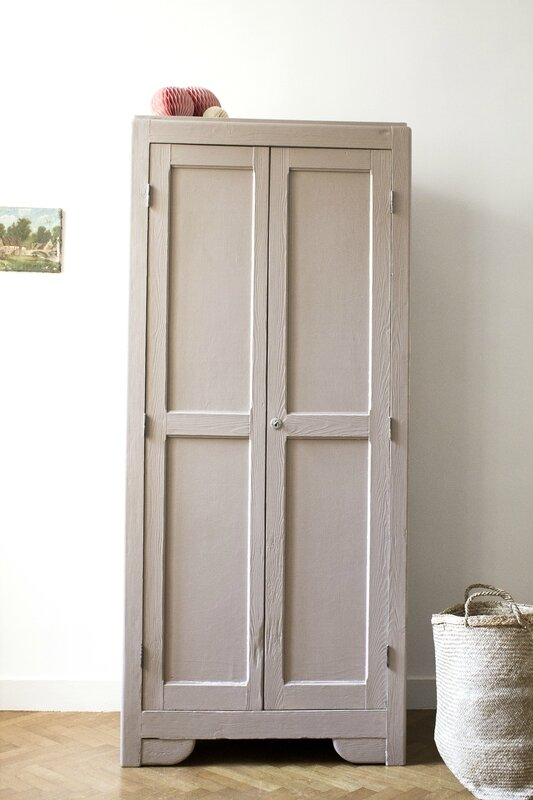 Armoire parisienne dead salmon farrow & ball TRENDY LITTLE 1