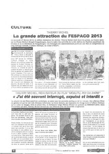 Interview FESPACO 1