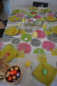 Pin dessins paques cake on pinterest - Deco de table de paques ...
