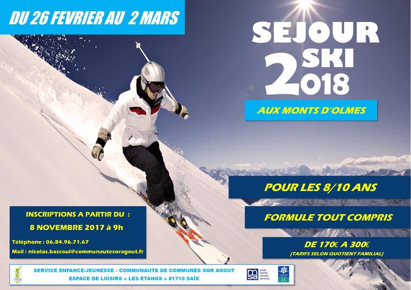 Affiche ski 8